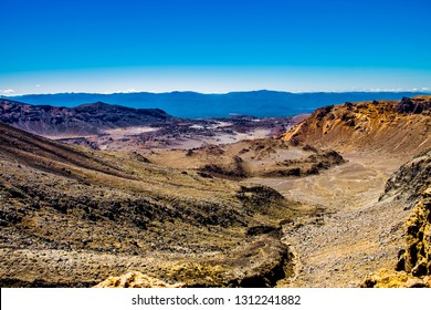 Tongariro Alpine Crossing on a sunny day the most famous NZ one day hike