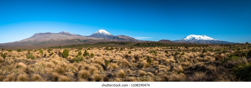 tongariro national park, north island, new zealand