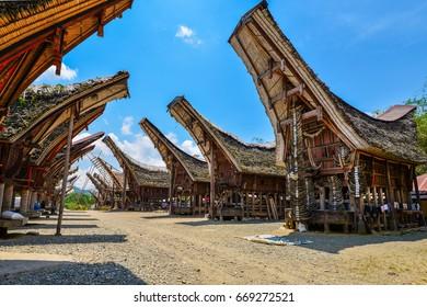 Tongkonan Toraja House