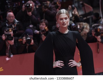 Toni Garrn attends the 'The Kindness Of Strangers' premiere during the 69th Berlinale International Film Festival Berlin at Berlinale Palace on February 07, 2019 in Berlin, Germany.