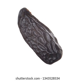 tonka bean isolated on white background