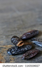 tonka bean. are used in perfumery and confectionery