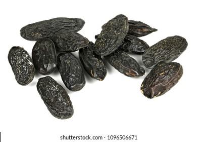 tonka beans isolated on white background