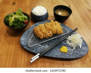 tonkatsu is Japanese deep fried pork