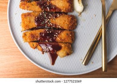 Tonkatsu (Japanese Pork Cutlet)