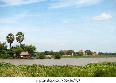 Tonle Bati landscape, Cambodia
