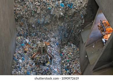 tons garbage waste disposal