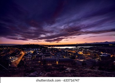 Tonsberg by evening. Norway.
