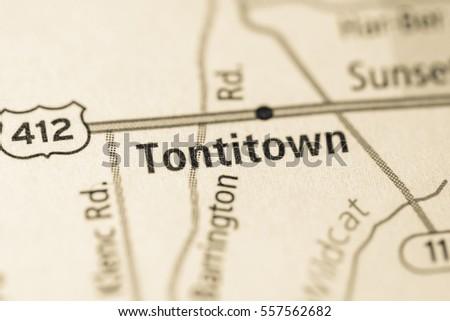 Tontitown Arkansas Map.Tontitown Arkansas Usa Stock Photo Edit Now 557562682 Shutterstock