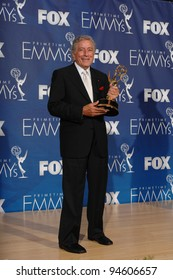 Tony Bennett at the 59th Primetime Emmy Awards at the Shrine Auditorium. September 17, 2007 Los Angeles, CA Picture: Paul Smith / Featureflash