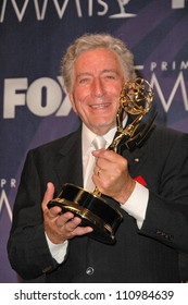 Tony Bennett in the press room at the 59th Annual Primetime Emmy Awards. The Shrine Auditorium, Los Angeles, CA. 09-16-07