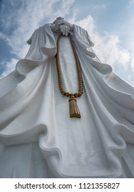 I took this at the foot of the 108 meter Guanyin of Nanshan statue near Sanya, China.  It is the 14th tallest statue in the world and the tallest statue of Guanyin in the world.