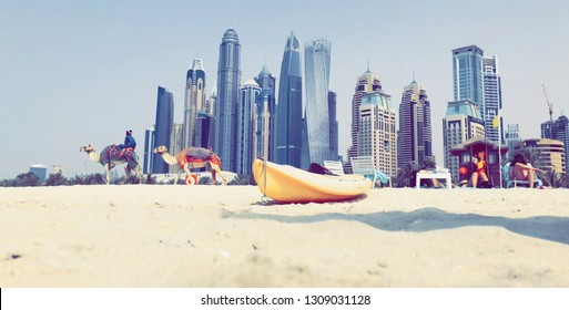 Took this photo in Dubai on the beach.