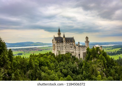 Took this photo from the famous Marienbrucke Bridge. Providing a great view of the Neuschwanstein Castle