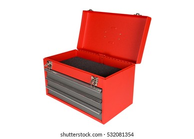 Tool box, Tool Cabinets on white background