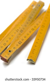 tool for measuring graduated in centimeters