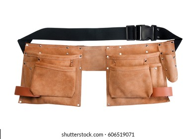 Tool pouch clip-on belt