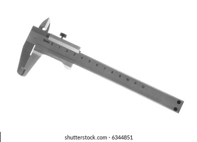 tool for precision measuring isolated on a white background