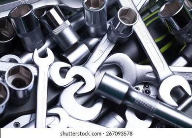Tool, toolbox, shop.