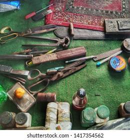 the tools of a cobbler's trade