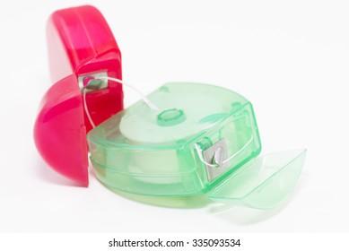 Tools for dental hygiene.