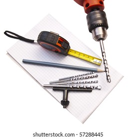 tools for drilling of apertures in wall