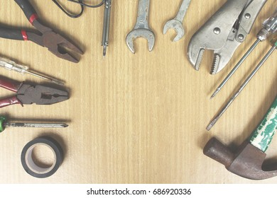 Tools and equipment for repair and construction.