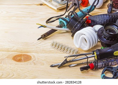 Tools for fixing wiring