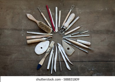 Tools for pottery making
