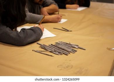 Tools of sculptor school of art
