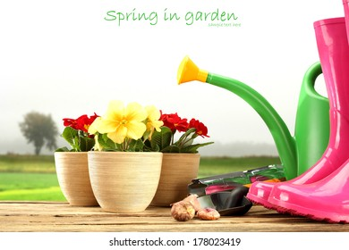 tools of spring and white space