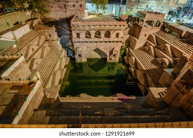 Toorji Ka Jhalra or Toorji's Step Well Located in Jodhpur India