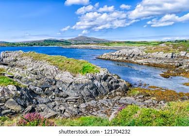 Toormore Bay shoreline, County Cork, Ireland