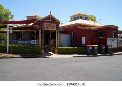 Toowoomba, Queensland/ Australia - October 2 2018: Toowoomba Visitor Information  Centre