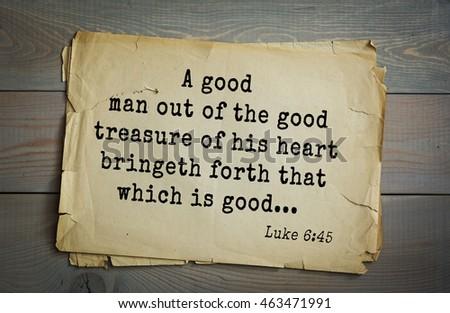 Top 500 Bible Verses Good Man Stock Photo (Edit Now) 463471991