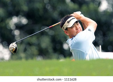 Top Asian golf player, Charlie Wi of Korea