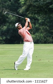 Top Asian golf player, Thongchai Jaidee of Thailand