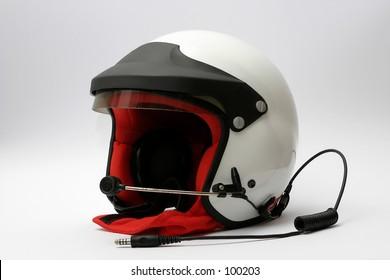 top class car racing helmet