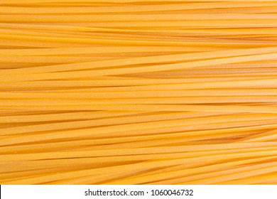 Top close view of yellow linguine corn.