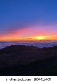 Top of the clouds half moon bay