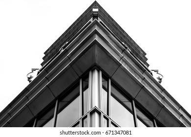 Top corner of a skyscraper