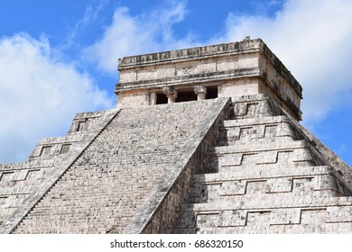 Top of El Castillo, Chichen Itza