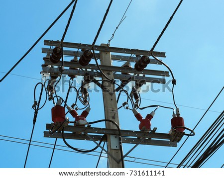 Incredible Top Electricity Pole Transformers Wire Linking Stock Photo Edit Now Wiring Database Lotapmagn4X4Andersnl