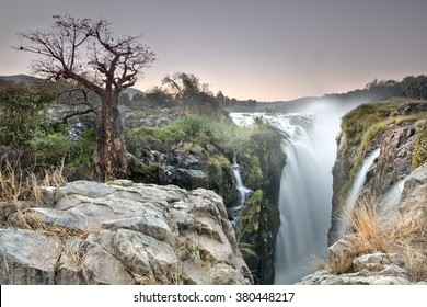 The top of Epupa Falls
