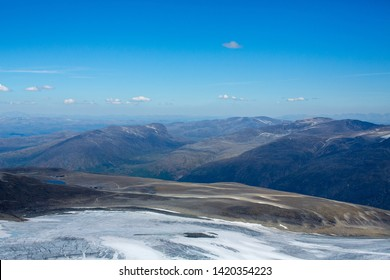 Top of Galdhopiggen in Jotunheimen