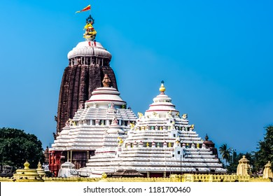 Top of the Jagannath temple, Puri, Odisha, India