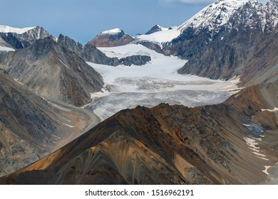 The top of the Kaskawulsh Glacier in Kluane National Park, Yukon, Canada