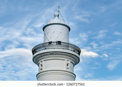 The top of the The Macquarie Lighthouse, Sydney Australia