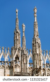Top of Milan cathedral
