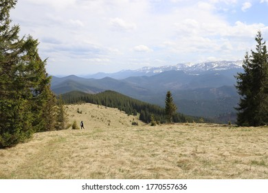 The top of Mount Kukul in the Ivano-Frankivsk region